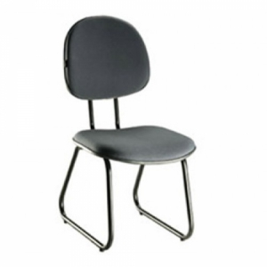 CAD - 05 Cadeira Para Escritório Executiva Esk L Duplo Estofada Varias Cores