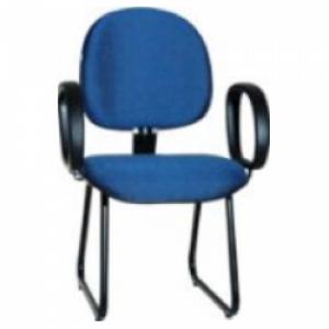 CAD - 09 Cadeira Para Escritório Executiva Esk Com Lamina e Braço Estofada Varias Cores