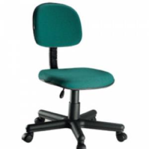 CAD - 16 Cadeira Para Escritório Secretaria Giratoria Economica Estofada Varias Cores