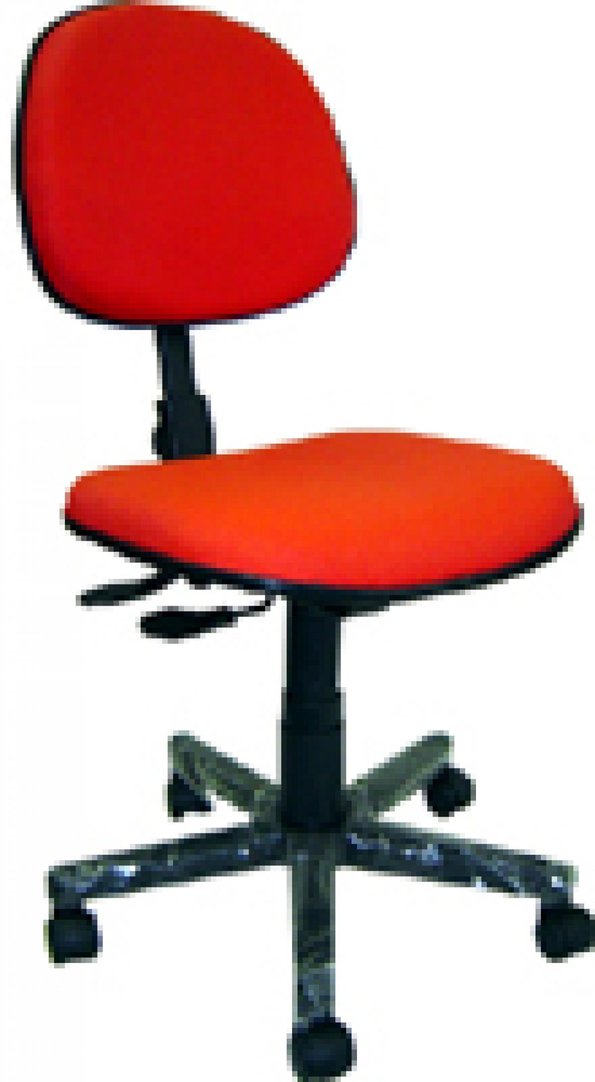CAD - 20 Cadeira Para Escritório Blak System Executiva Giratoria Estofada Varias Cores