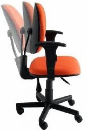 CAD - 25 Cadeira Para Escritório Blak System Executiva Com Braço Giratoria Estofada Varias Cores
