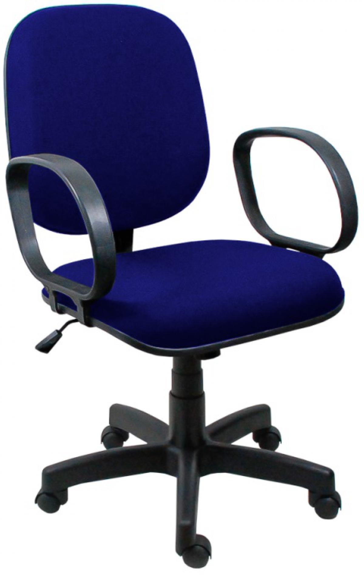 CAD - 26 Cadeira Para Escritório Diretor Giratória Com Braço Estofada Varias Cores
