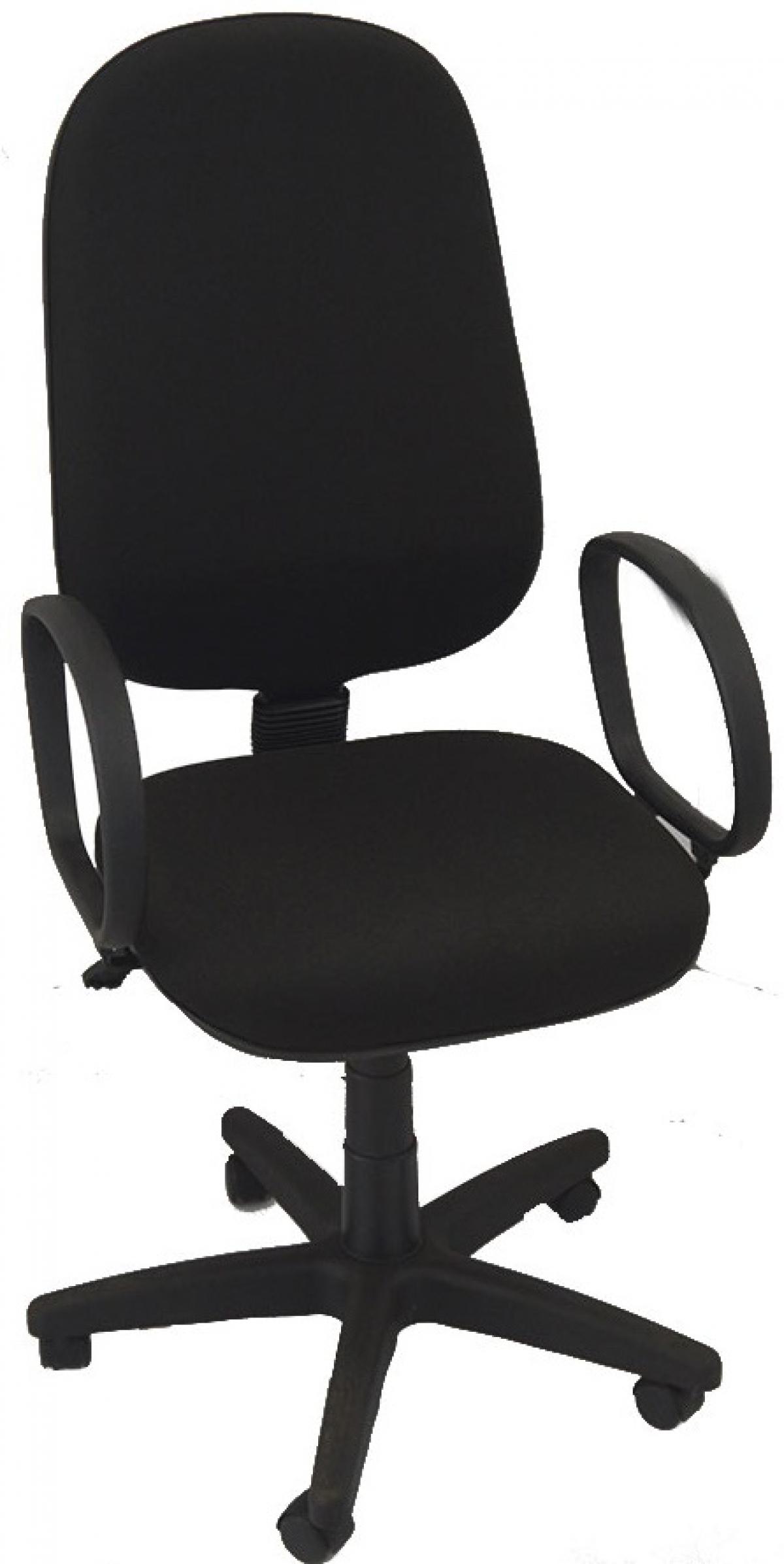 CAD - 27 Cadeira Para Escritório Presidente Giratoria Com Braço Estofada Varias Cores