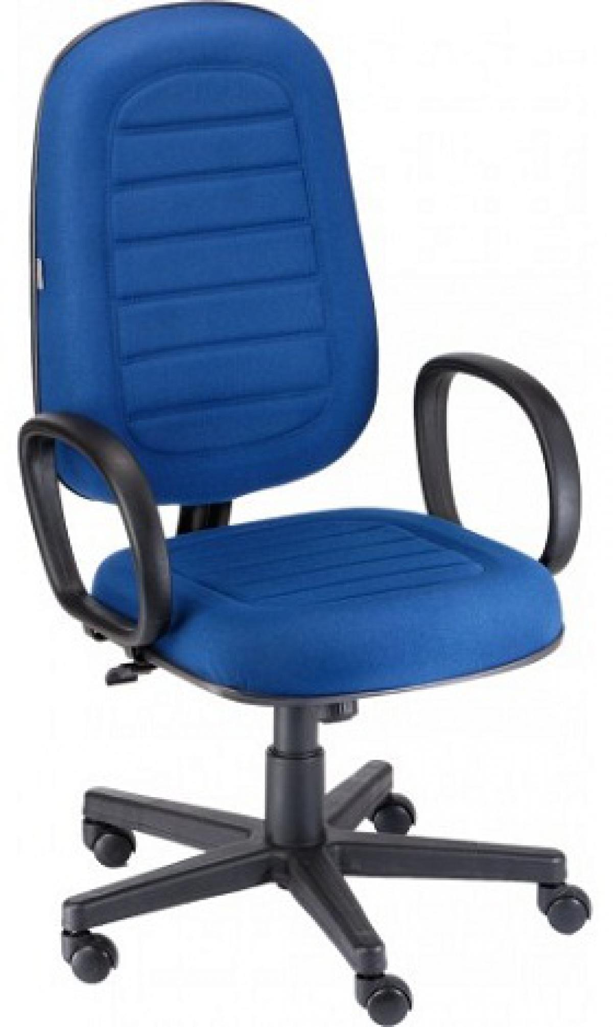 CAD - 31 Cadeira Para Escritório Presidente Costurada Giratória Com Braço Estofada Com Relax Varias Cores
