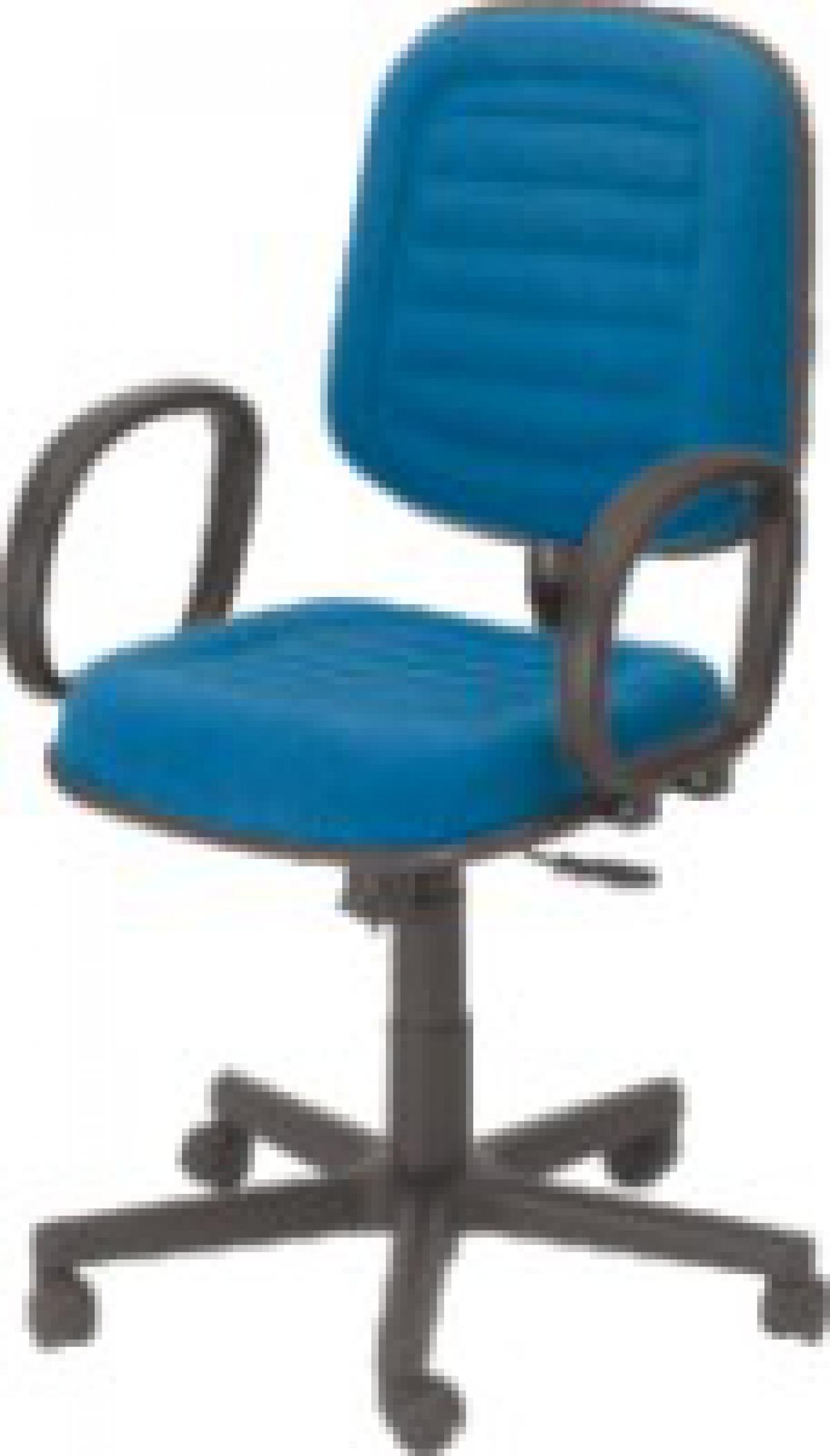 CAD - 32 Cadeira De Escritório Diretor Costurada Giratória Com Braço Estofada Com Relax Varias Cores