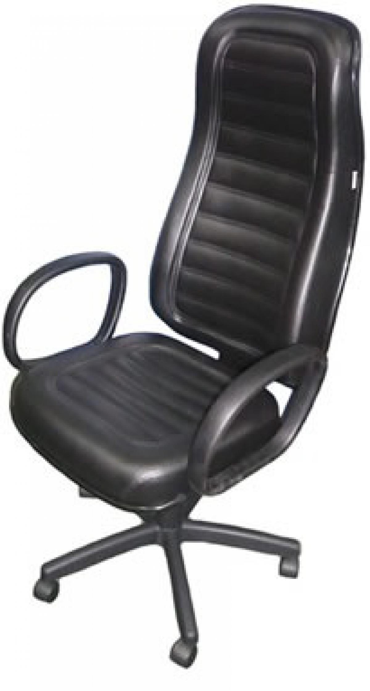 CAD - 37 Cadeira Para Escritório Presidente Costurada Giratória Com Braço Estofada Com Relax Varias Cores