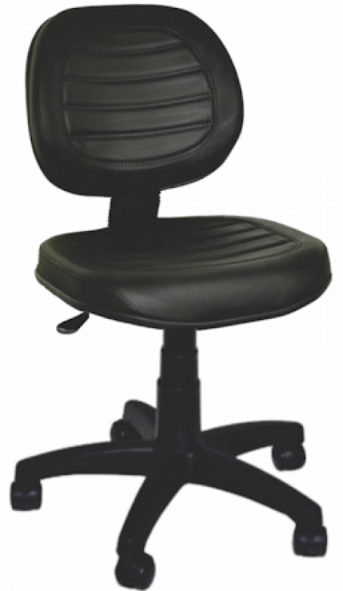 CAD - 49 Cadeira Para Escritório Executiva Costurada Giratoria Estofada Varias Cores
