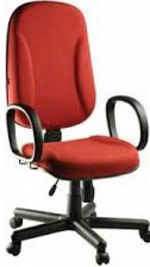 CAD - 35 Cadeira Para Escritório Presidente Com Lamina Giratoria Com Braço Estofada Varias Cores