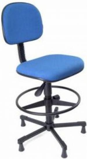 CAD - 55 Cadeira Caixa Para Escritório Estofada Secretaria Varias Cores