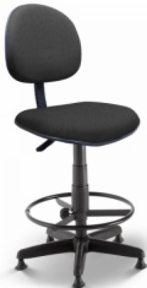 CAD - 56 Cadeira Caixa Para Escritório Estofada Executiva Varias Cores