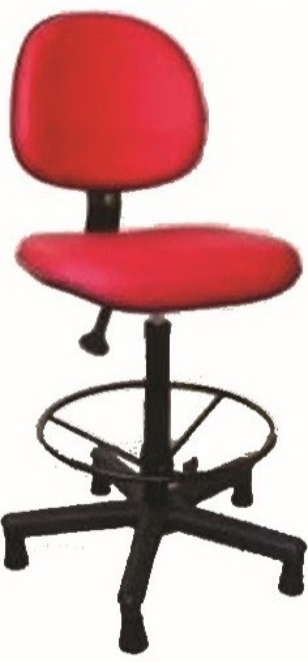 CAD - 57 Cadeira Caixa Para Escritório Estofada Executiva Com lamina Varias Cores