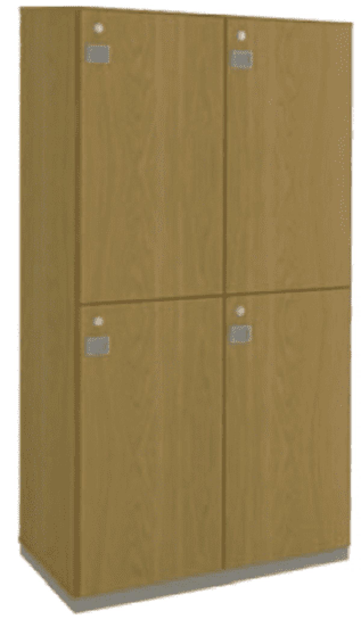 AR - 44 - 160x081x044 Guarda Volumes 04 Portas Grandes Varias Cores