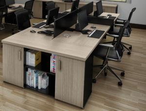 EST - 05 Plataforma de Trabalho De Escritório Prima 40 Varias Cores